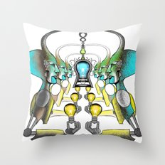 Luz Throw Pillow