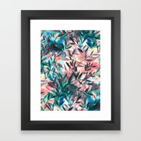 Changes Coral Framed Art Print