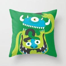Mister Greene Throw Pillow