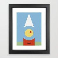 DUNCE CAP Framed Art Print