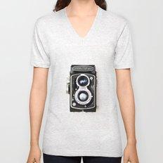 Yashica Retro Vintage Camera Unisex V-Neck
