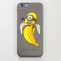 iPhone & iPod Case featuring Ba-ba-ba-ba-banana by gebe