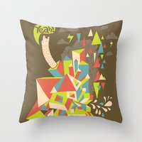 Yeah! Throw Pillow