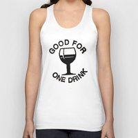 Wooden Nickel: Good For One Drink Unisex Tank Top