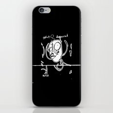 Exist and Deceased iPhone & iPod Skin