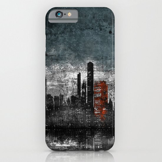 Dark Blue iPhone & iPod Case