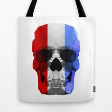 Polygon Heroes - The Patriot Skull Tote Bag