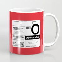 My Blood Type Is O, For … Mug