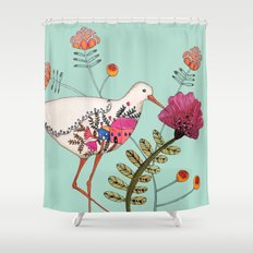les souvenirs Shower Curtain