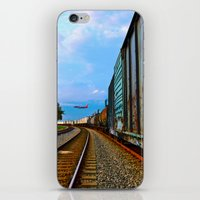 Planes, Trains, But No A… iPhone & iPod Skin