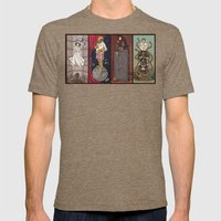 The Haunted Galaxy Mens Fitted Tee Tri-Coffee SMALL