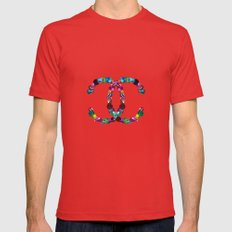 Precious Diamonds Mens Fitted Tee Red SMALL
