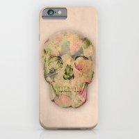 iPhone & iPod Case featuring skull1 by Duygu Kondoglu