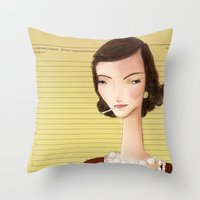 Icons / Coco Throw Pillow