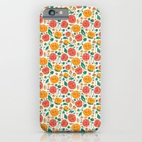 iPhone & iPod Case featuring Flowers Bloom by MadTee