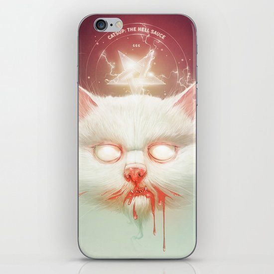 The Hell Kitty iPhone & iPod Skin