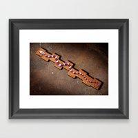 Energy Snake Framed Art Print