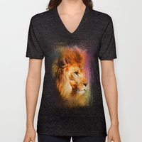 Colorful Expressions Lio… Unisex V-Neck