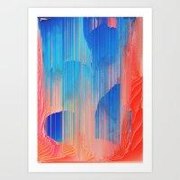 Hot n' Cold Art Print