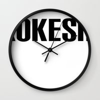 KOKESHI FONT DESIGN Wall Clock