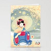 Turning Japanese Stationery Cards