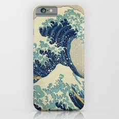 The Great Wave off Kanagawa iPhone 6 Slim Case