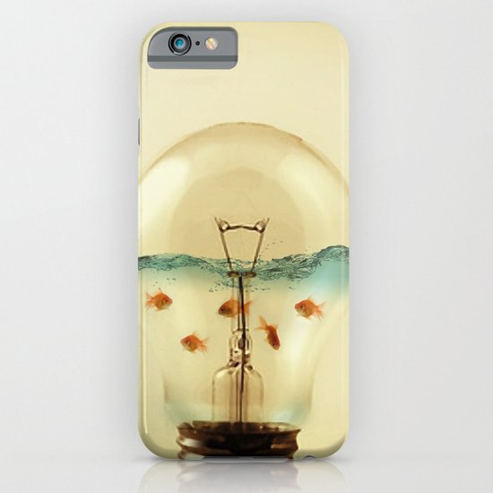 gold fish globe iPhone & iPod Case