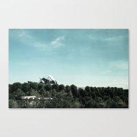 Pritzker Pavilion - Mill… Canvas Print