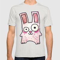 Freezer Bunny Mens Fitted Tee Silver SMALL