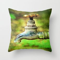 Tap Throw Pillow