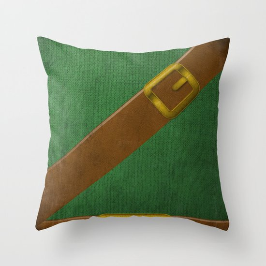 Video Game Poster: Adventurer Throw Pillow