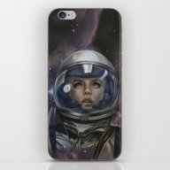 iPhone & iPod Skin featuring Astro Girl by Bokkei