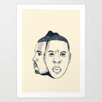 The Throne Art Print