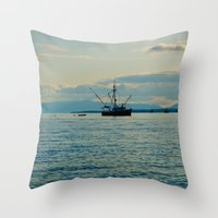 A Seiners Life  Throw Pillow