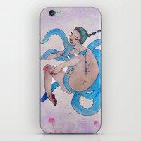 Deep Sea Debauchery iPhone & iPod Skin