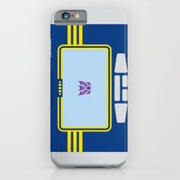 iPhone Cases featuring Soundwave Transformers Minimalist by Jamesy