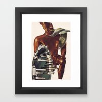Collage #43 Framed Art Print