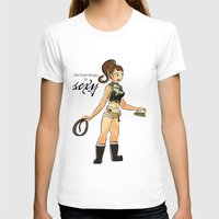 Archaeology is Sexy Womens Fitted Tee White SMALL