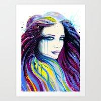 -Miss Universe- Art Print
