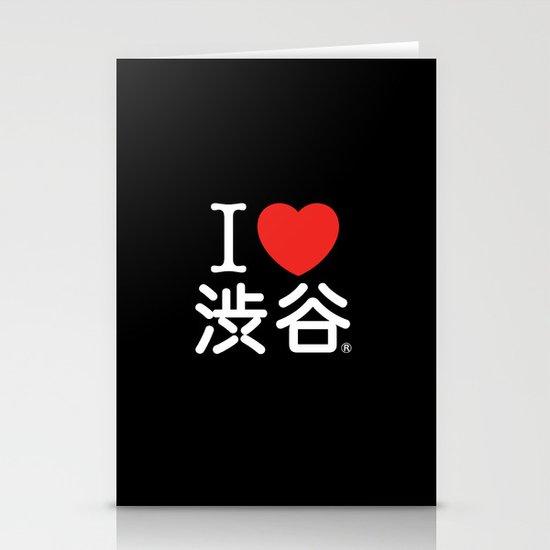 I ♥ Shibuya Stationery Card