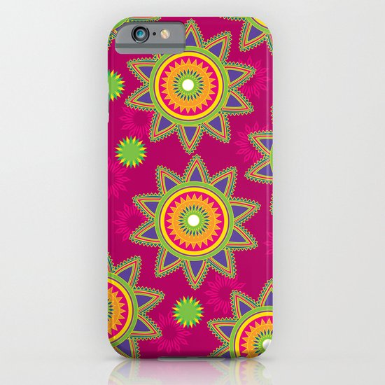 Moroccan Flower Wine iPhone & iPod Case
