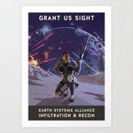 Mass Effect 3- Infiltrat… Art Print