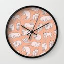 Picasso Cats Wall Clock