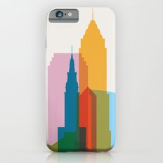 Shapes of Cleveland accurate to scale iPhone 6 Slim Case