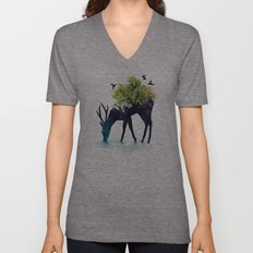 Watering (A Life Into Itself) Unisex V-Neck