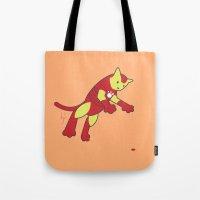 The Invincible IronCat Tote Bag