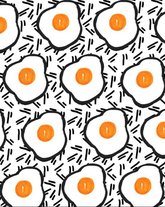 Eggs Art Print