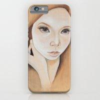 Self Portrait On Wood iPhone 6 Slim Case