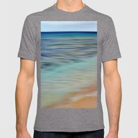 See The Sea Mens Fitted Tee Tri-Grey SMALL