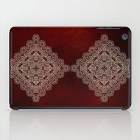 Silvery Doodle iPad Case